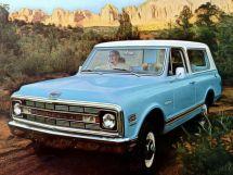 Chevrolet Blazer 1968, джип/suv 3 дв., 1 поколение