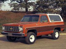 Chevrolet Blazer 1972, джип/suv 3 дв., 2 поколение