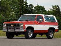 Chevrolet Blazer рестайлинг 1976, джип/suv 3 дв., 2 поколение