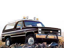 Chevrolet Blazer 2-й рестайлинг 1981, джип/suv 3 дв., 2 поколение