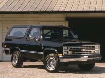 Chevrolet Blazer 3-й рестайлинг 1985, джип/suv 3 дв., 2 поколение
