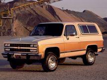 Chevrolet Blazer 4-й рестайлинг 1988, джип/suv 3 дв., 2 поколение