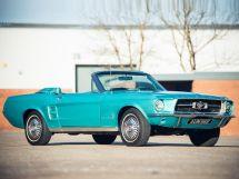 Ford Mustang рестайлинг 1966, открытый кузов, 1 поколение