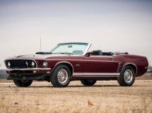 Ford Mustang 2-й рестайлинг 1968, открытый кузов, 1 поколение