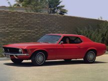 Ford Mustang 2-й рестайлинг 1968, купе, 1 поколение