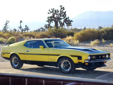 Ford Mustang  09.1970 - 09.1973