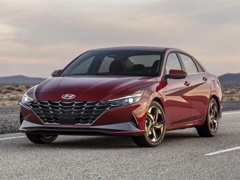 Hyundai Elantra  10.2020 -  н.в.