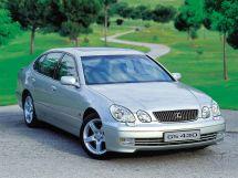 Lexus GS430 рестайлинг 2000, седан, 2 поколение, S160