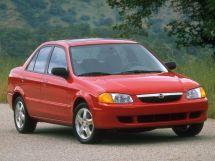 Mazda Protege 1998, седан, 3 поколение, BJ