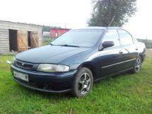 Mazda Protege рестайлинг 1996, седан, 2 поколение, BH