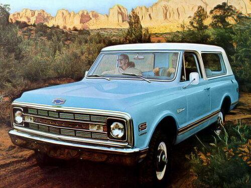 Chevrolet Blazer 1968 - 1970