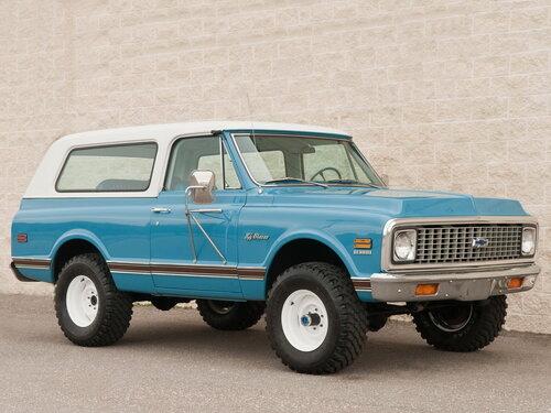 Chevrolet Blazer 1970 - 1972