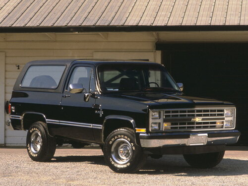 Chevrolet Blazer 1985 - 1988