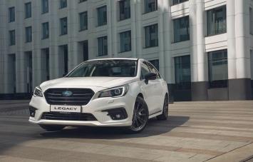 Subaru Legacy Ultimate - новая специальная версия для России