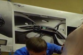 Раскрыт салон субкомпактного электромобиля КАМАЗ