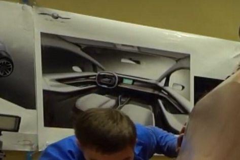 Раскрыт салон компактного электромобиля КАМАЗ