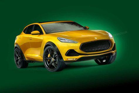Lotus при постройке своего первого кроссовера заручится технологиями Volvo