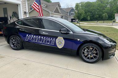 Полицейские США вычислили выгодность покупки патрульной Tesla Model 3