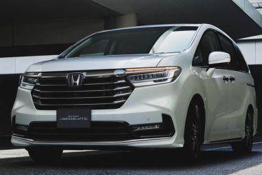 Honda Odyssey пережила второй за три года рестайлинг
