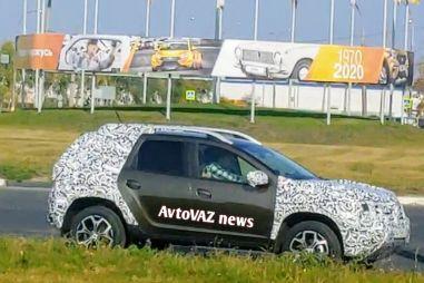 Renault Duster второго поколения тестируют в России (ФОТО)