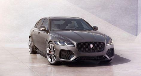 Jaguar XF обновился в духе кроссовера F-Pace