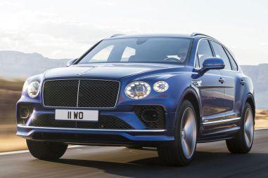 Обновленный Bentley Bentayga добрался до России: от 14 923 000 рублей