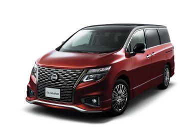 Nissan Elgrand обновили — изменились дизайн и оснащение