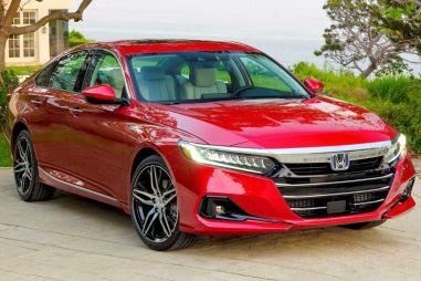 Десятую Honda Accord подвергли рестайлингу