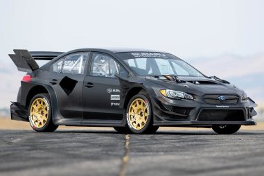 Subaru представила карбоновую WRX STI для нового эпизода Джимханы (ВИДЕО)