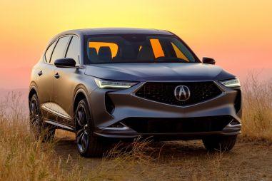 Acura показала «атлетичный» кроссовер MDX нового поколения