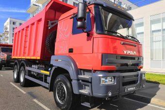 «Урал» представил новый грузовик для асфальта (ФОТО)