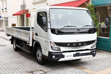 Mitsubishi Fuso Canter впервые за 10 лет получил новую кабину