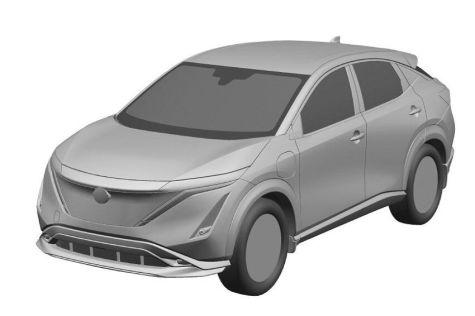 Nissan запатентовал в России свой первый электрокросс Ariya