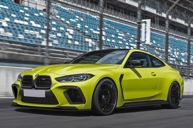 Немецкое тюнинг-ателье исправило «ноздри» новых BMW M3 и M4
