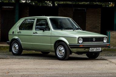 На аукцион выставлен Volkswagen Golf 1980 года без пробега