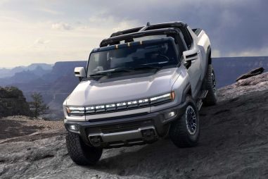 General Motors показал возрожденный Hummer. Теперь он электрический!