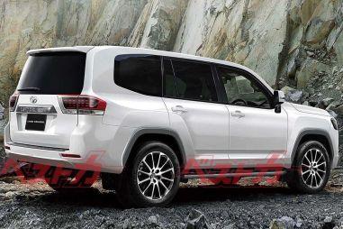 Toyota Land Cruiser 300: дата премьеры и другие подробности