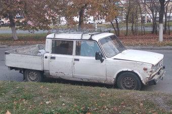 Этот автомобиль показывали на выставке МИМС-2001.