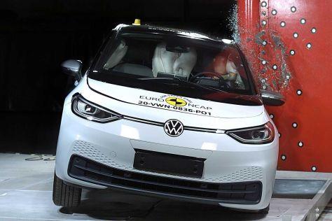 Volkswagen ID.3 разбили по методике Euro NCAP: что показали результаты