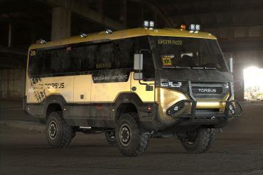 Украинские предприниматели создали самый экстремальный в мире школьный автобус