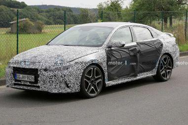 Hyundai уже обкатывает спортивную Elantra N на Нюрбургринге (ВИДЕО)