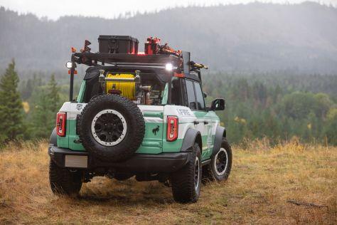 Ford Bronco превратили в пожарный автомобиль для лесхозов