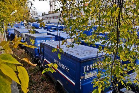 В Москве обнаружили десятки гниющих грузовиков «Почты России» (ФОТО)