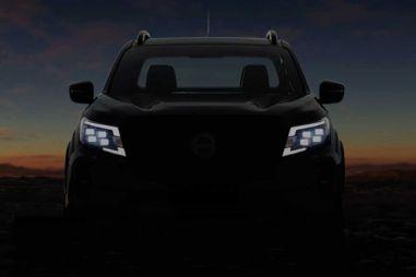 Nissan дразнит изображениями нового поколения Navara