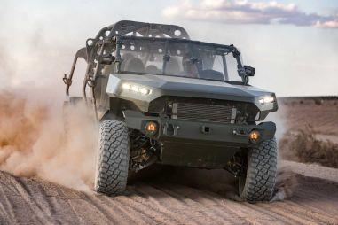 Армия США получила первые багги на базе Chevrolet Colorado ZR2