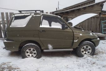 В Бурятии продают редчайшую разновидность УАЗа — стеклопластиковый Астеро