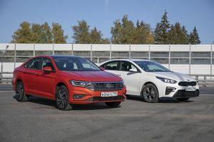 Kia Cerato против Volkswagen Jetta: вам буррито или клопсы?