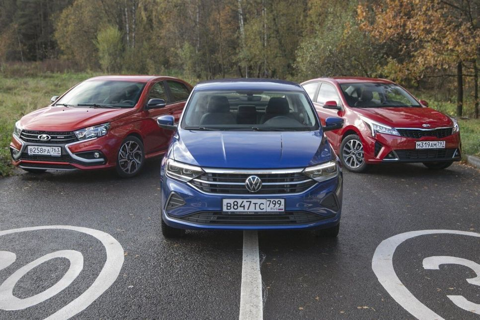 Lada Vesta Sport против Kia Rio и Volkswagen Polo. Нюансы выбора за миллион с хвостиком