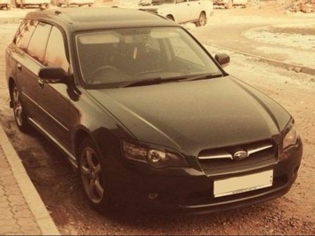 Subaru Legacy 2003 - отзыв владельца