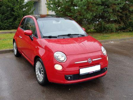 Fiat 500 2008 - отзыв владельца